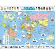 Legpuzzel de Wereld Staatkundig | Larsen