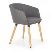 HALMAR Jídelní židle K266 tmavě šedá