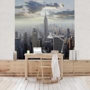 Fototapet vlies Rasarit de soare in New York