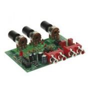 Velleman Kit Preamplificador Estéreo Con Ajuste Del Volumen Y Del Tono- K8084