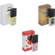 Skyedventures Set of 3 Silent Love-The Boss-Younge Heart Red Perfume
