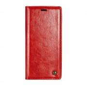 Samsung Galaxy Note 8 rustiek leren boekhoesje rood