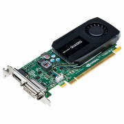 PNY NVIDIA Video Card Quadro K420 DDR3 2GB/128bit, PCI-E 2.0 x16, DVI-D, DP, Cooler, Single Slot, Low Profile Adapter, Cable, Full Size and Low Profile Bracket included VCQK420-2GB-PB