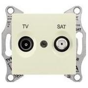SEDNA TV-SAT aljzat végzáró 1 db Bézs SDN3401647 - Schneider Electric