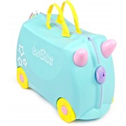 Trunki Una The Unicorn Resväska 18L, Turquoise