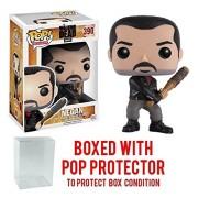 Funko Pop Tv: The Walking Dead - Negan #390 Vinyl Figure (Bundled With Box Protector Case)