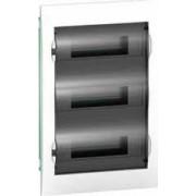 EASY9 Kiselosztó, 36 modul, PE+N sínnel, füstszínű ajtóval, süllyesztett EZ9E312S2F - Schneider Electric