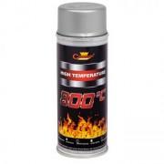 Spray vopsea argintiu CHAMPION etriere ,universal rezistent termic 800°C 400ml