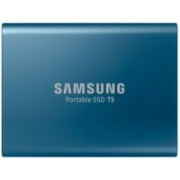 Samsung T5 500 GB External Solid State Drive(Blue)