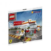 Lego 40195 Shell Station / Shell Station Showa Shell Limited Shell V-Power Lego Collection