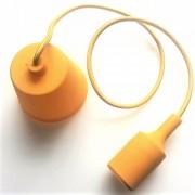 LED lámpa függeszték , E27 , sárga