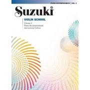Suzuki Violin School, Vol 3: Piano Acc., Paperback/Shinichi Suzuki