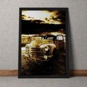 Quadro Decorativo Carro Vintage 35x25