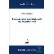 Fundamentele constitutionale ale dreptului civil - Sonia Draghici