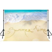 Zhyxia Zhy Beach Waves Backdrop for Photography 7X5FT Summer Time Background Party Decor Supplies Photo Shooting Props BJQQST47