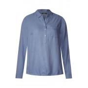 cecil Gemêleerde blouse met kraag - powder blue