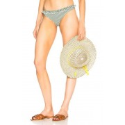 Solid & Striped Milly Bikini Bottom in Green. - size XS (also in L,S)