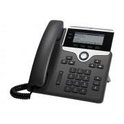 Cisco IP Phone 7821 - Téléphone VoIP - SIP, SRTP - 2 lignes