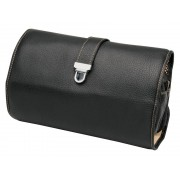Necessär Erbe Travel Black Leather – utan gravyr