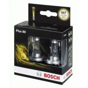 Bec incandescent BOSCH set 2 becuri H7