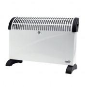 Convector electric de podea Home FK 330, 3 trepte de putere, 2000W, termostat, Alb Autolux