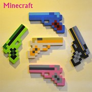 Minecraft Toys Minecraft Foam Diamond Sword Pickax Axe Shovel Gun EVA Model Toys Gift Toy For Kids Birthday Christmas Gifts