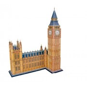 Glamorway 3 D Paper Model Big Ben Puzzle Educational Kid Toy Eps Foam Jigsaw For Children Gift