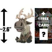 "Sven: ~2.6"" Funko Mystery Minis x Disney Frozen Mini Vinyl Figure Series + 1 FREE Classic Disney Trading Card Bundle [UNCOMMON]"