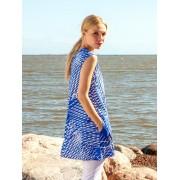 nanso Långtunika/klänning, blåvit (Stl: S, )