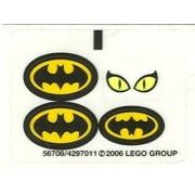 Stickers - Batman Lego Original Sticker Sheet for Set # 7779 The Batman Dragster: Catwoman Pursuit