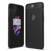 Carcasa TECH-PROTECT TPUCARBON OnePlus 5 Black