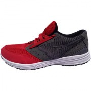 Navex Merathon Sports Shoes Black And Red