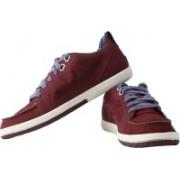 Puma Mini Ribald Lo Sneakers For Men(Brown)