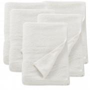 [neu.haus] Froté ručník 5x HTHT-1015 70x140 cm bílý