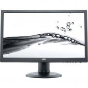 "Monitor LED AOC e2460Phu 24"" 2ms GTG black"