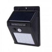 Clar Proiector LED Cu Panou Solar si Senzor de Miscare DX10 Lampa 20 LED-uri simetrice