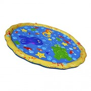 MagiDeal Portable Inflatable Outdoor Garden Water Slide Sprinkler Mat/Ball Swimming Pool Children Baby Toys - spray mat