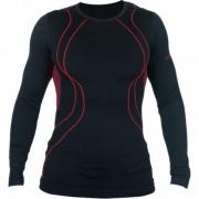 Термо блуза Gemm - Черен / червен