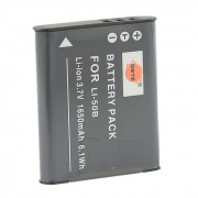 DSTE 1650mAh Bateria w / OLYMPUS LI-50B + Mas - Gris