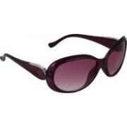 Pede Milan Oval Sunglasses(Pink)