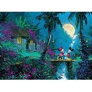 Ceaco Disney Mickey Mouse, Fine Art, Moonlight Proposal Puzzle (1000 Piece)