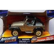 Adventure Force Jeep Rubicon Pull-Back 1:47 Scale Diecast Power Racer by Maisto