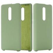 Yinghua Teléfono Funda Protectora del Color de Silicona líquida Dropproof coverSolid para Xiaomi redmi K20 Pro/Mi 9T / Mi 9T Pro (Negro) Cubierta del teléfono / K20 Regalo (Color : Green)