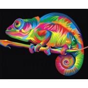Gaira Malování podle čísel Chameleón M992396