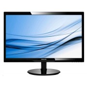 Philips 246V5LHAB/00 24 quot;, TN, FHD, 1920 x 1080 pikslit, 16:9, 1 ms, 250 cd/m², must