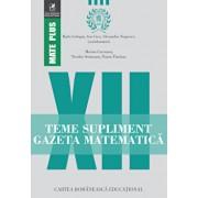 Teme supliment gazeta matematica clasa a XII-a/Radu Gologan, Ion Cicu, Alexandru Negrescu