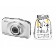 Nikon COOLPIX W100 biały + plecak