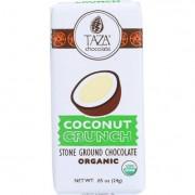Taza Chocolate Bar - Organic - Tazitos Minibars - Stone Ground Chocolate - 65 Percent Dark - Coconut
