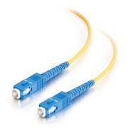 C2G 85568 1m SC SC Yellow fiber optic cable