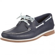 Clarks Men's Quay Port Navy Leather Clogs and Mules - 9 UK/India (43 EU)